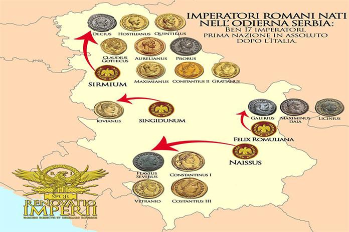 Moj grad SM, rimski carevi, Sirmium.jpg